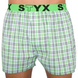 Pánské trenky Styx sportovní guma vícebarevné (B527)