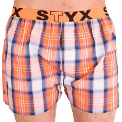Pánské trenky Styx sportovní guma vícebarevné (B601)