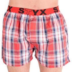 Pánské trenky Styx sportovní guma vícebarevné (B602)