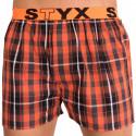Pánské trenky Styx sportovní guma vícebarevné (B507)