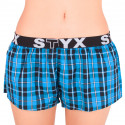 Dámské trenky Styx sportovní guma vícebarevné (T523)