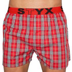 Pánské trenky Styx sportovní guma vícebarevné (B524)