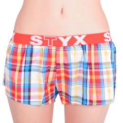 Dámské trenky Styx sportovní guma vícebarevné (T621)