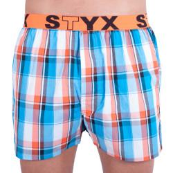 Pánské trenky Styx sportovní guma vícebarevné (B631)