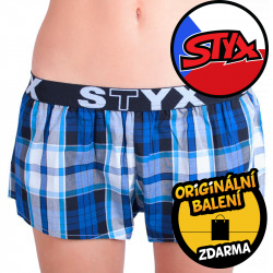 Dámské trenky Styx sportovní guma vícebarevné (T612)