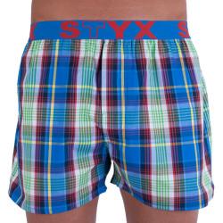 Pánské trenky Styx sportovní guma vícebarevné (B715)