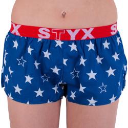 Dámské trenky Styx art sportovní guma hvězdy (T658)