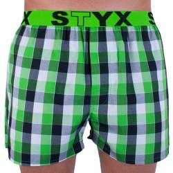 Pánské trenky Styx sportovní guma vícebarevné (B722)