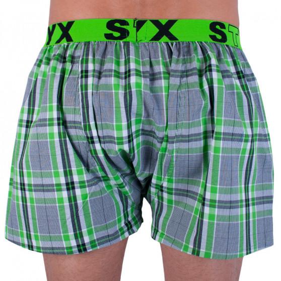Pánské trenky Styx sportovní guma vícebarevné (B730)