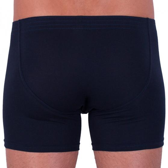 Pánské boxerky Styx long klasická guma tmavě modré (F963)