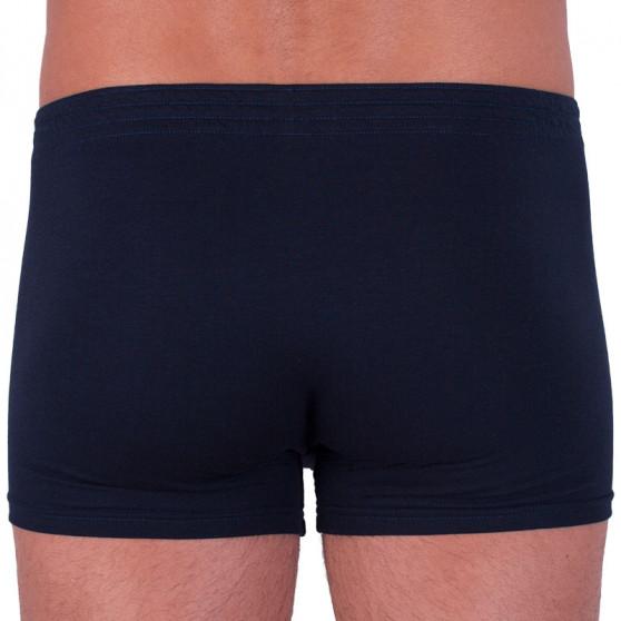 Pánské boxerky Styx klasická guma tmavě modré (Q963)