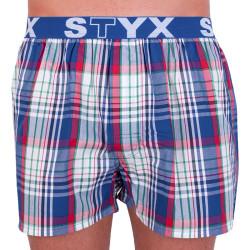 Pánské trenky Styx sportovní guma vícebarevné (B628)