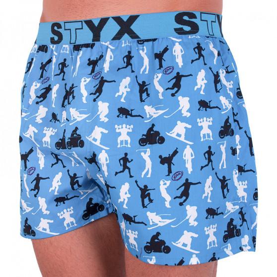 Pánské trenky Styx art sportovní guma sportovci (B750)