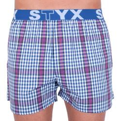 Pánské trenky Styx sportovní guma vícebarevné (B732)