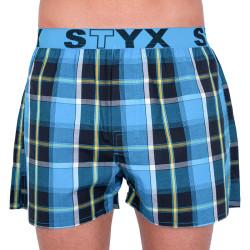 Pánské trenky Styx sportovní guma vícebarevné (B737)