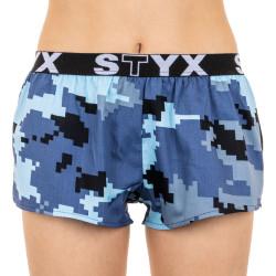 Dámské trenky Styx art sportovní guma maskáč digital (T657)