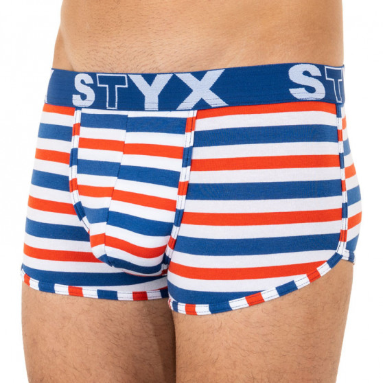 Pánské boxerky Styx basket sportovní guma vícebarevné (Z863)