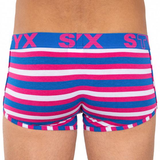 Pánské boxerky Styx basket sportovní guma vícebarevné (Z864)