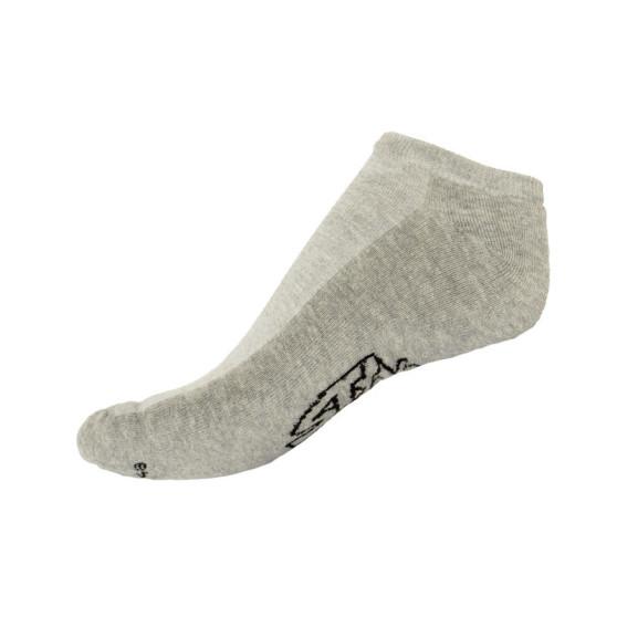 Ponožky Styx indoor šedé s černým nápisem (H253)
