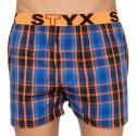 Pánské trenky Styx sportovní guma vícebarevné (B806)