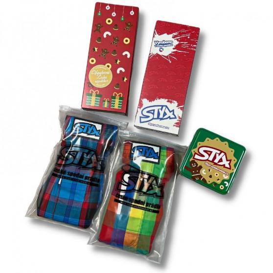 Pánské trenky Styx art klasická guma gambler (A855)