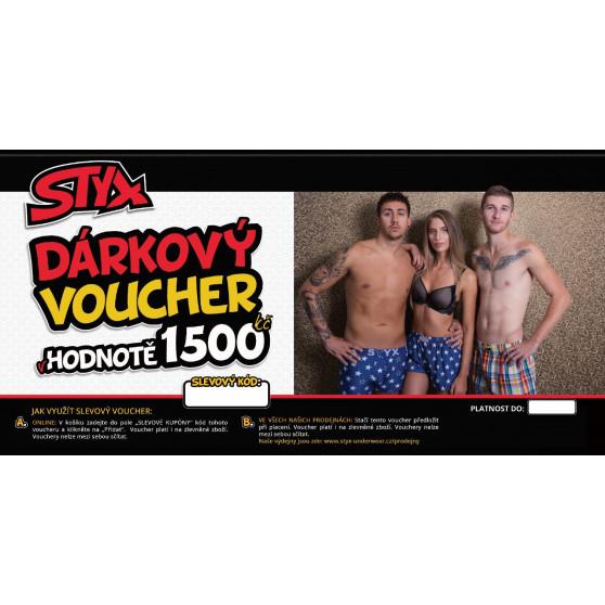 Elektronický voucher Styx 1500,- (zaslání pouze e-mailem)