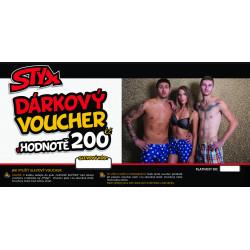 Elektronický voucher Styx 200,- (zaslání pouze e-mailem)