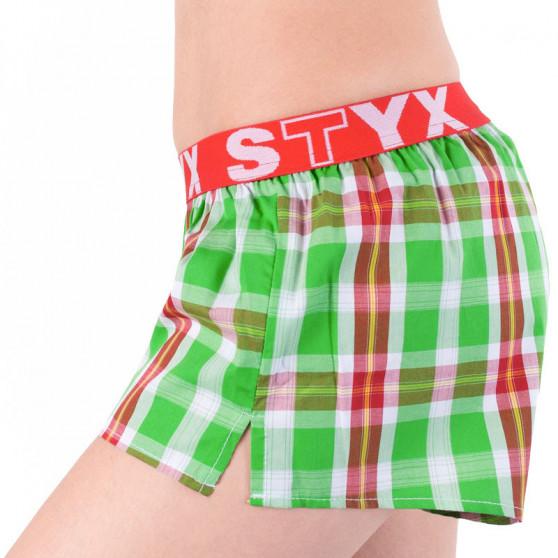 Dámské trenky Styx sportovní guma vícebarevné (T633)