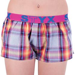 Dámské trenky Styx sportovní guma vícebarevné (T629)