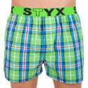 Pánské trenky Styx sportovní guma vícebarevné (B618)