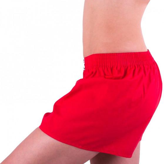 Dámské trenky Styx klasická guma červené (K663)