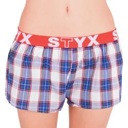 Dámské trenky Styx sportovní guma vícebarevné (T516)