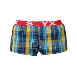 Dámské trenky Styx sportovní guma vícebarevné (T514)