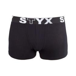 Dětské boxerky Styx sportovní guma černé (GJ960)