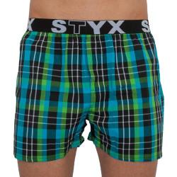 Pánské trenky Styx sportovní guma vícebarevné (B816)