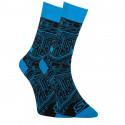 Veselé ponožky Styx vysoké tišťák (H857)