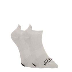 Ponožky Styx nízké šedé s černým logem (HN1062)