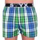10PACK pánské trenky  Styx sportovní guma vícebarevné (B7171839070911517)