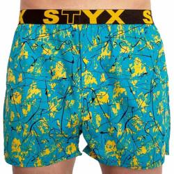 Pánské trenky Styx art sportovní guma Jáchym (B851)
