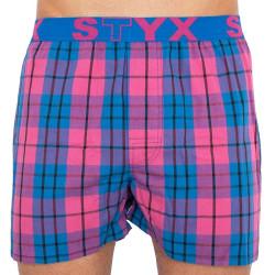 Pánské trenky Styx sportovní guma vícebarevné (B815)