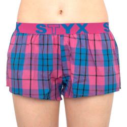 Dámské trenky Styx sportovní guma vícebarevné (T815)