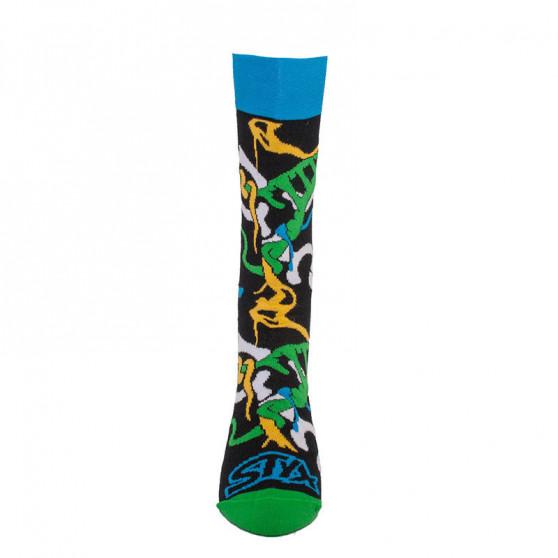 3PACK veselé ponožky Styx vysoké v dárkovém balení (H8575556)