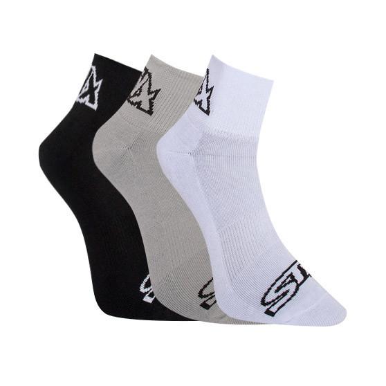 3PACK ponožky Styx kotníkové v dárkovém balení (HK9606162)