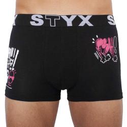 Pánské boxerky Styx sportovní guma černé PSH - limitovaná edice (G960PSH)