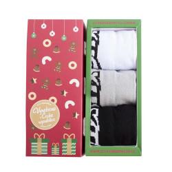 3PACK ponožky Styx nízké v dárkovém balení (HN9606162)