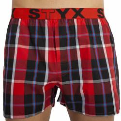 Pánské trenky Styx sportovní guma vícebarevné (B823)