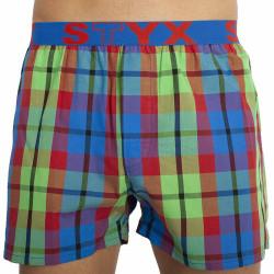 Pánské trenky Styx sportovní guma vícebarevné (B827)