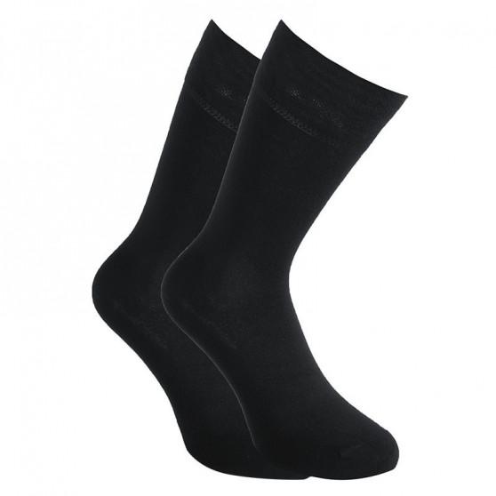 30PACK ponožky Styx vysoké bambusové černé (30HB960)