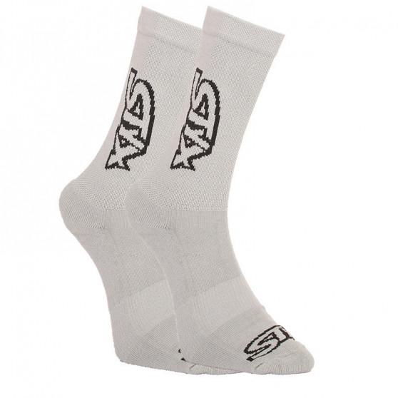 3PACK ponožky Styx vysoké šedé (HV10626262)