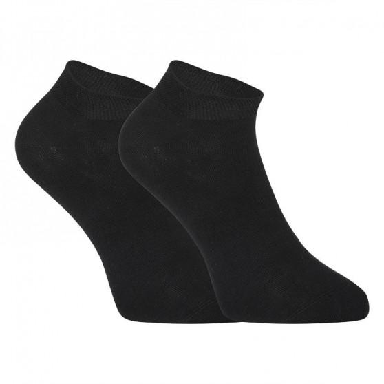 5PACK ponožky Styx nízké bambusové černé (5HBN960)